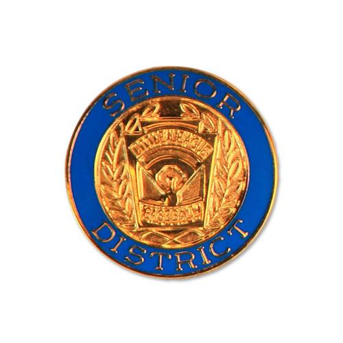 Senior Baseball District Pin View Product Image