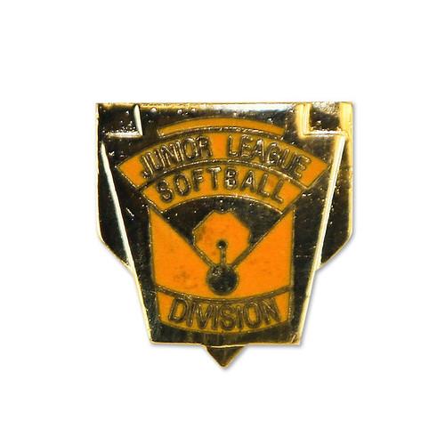 Junior Softball Division Pin View Product Image