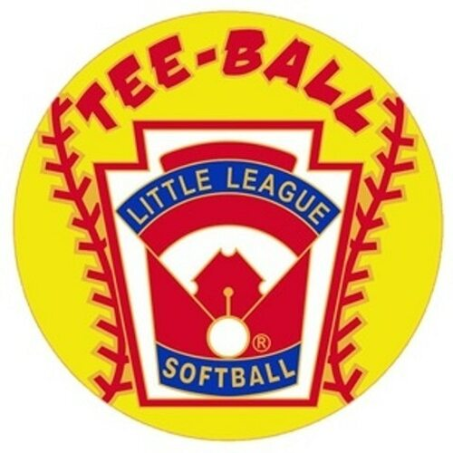 Tee Ball Softball Pin View Product Image