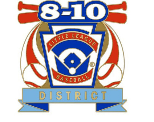 8-10 LLBB District Pin View Product Image