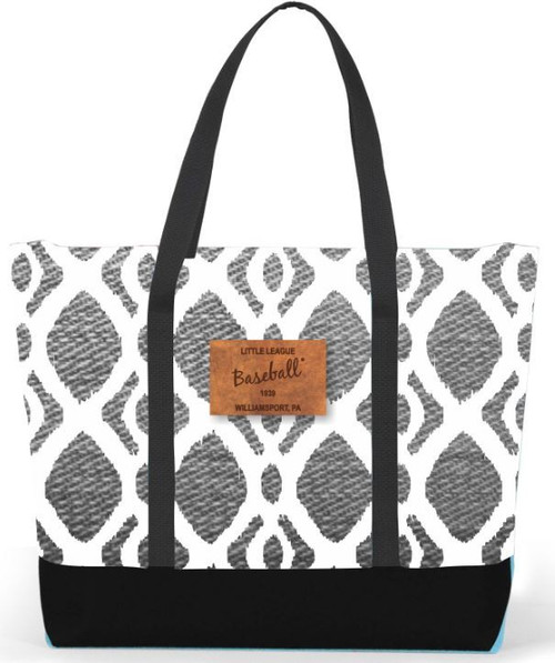 Baseball Ikat Tote View Product Image