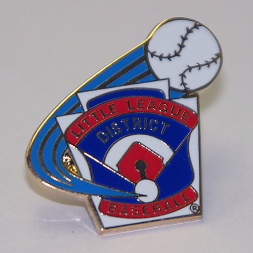 LL Baseball District Pin View Product Image