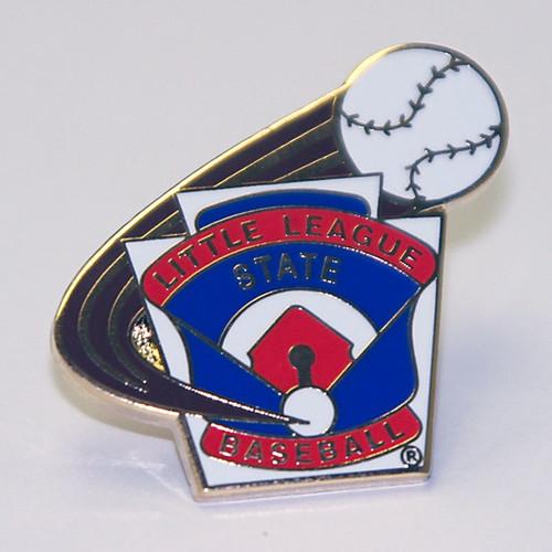 LL Baseball State Pin View Product Image