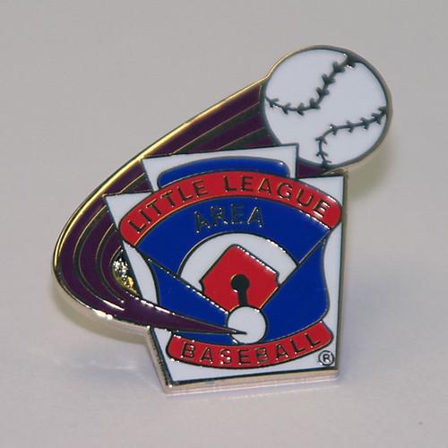LL Baseball Area Pin View Product Image