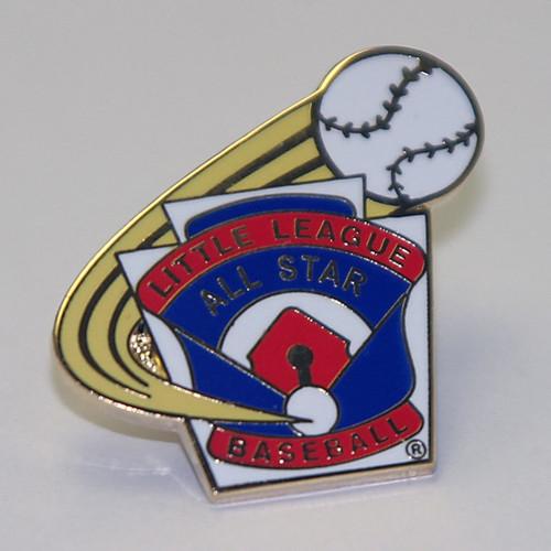LL Baseball All-Star Pin View Product Image