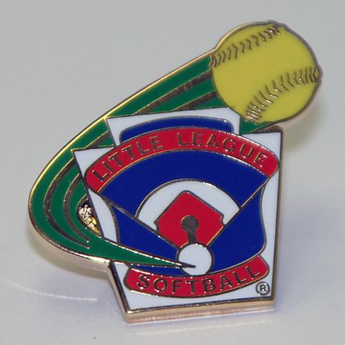 LL Softball All-Purpose Pin View Product Image