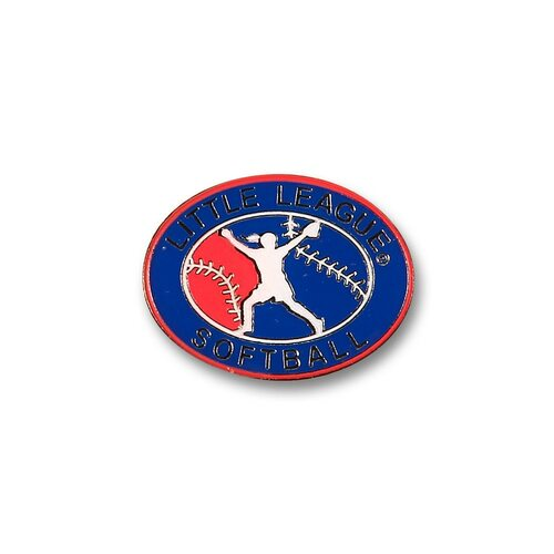Softball License Logo Pin View Product Image
