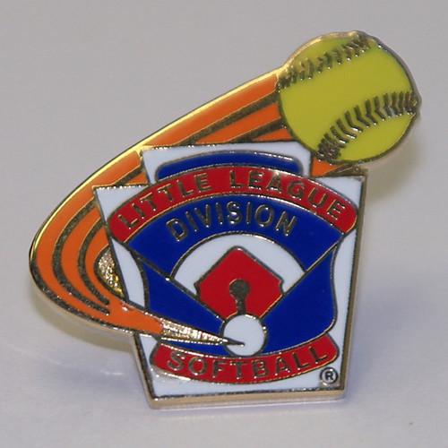 LL Softball Division Pin View Product Image