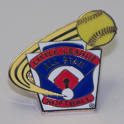 LL Softball All Star Pin View Product Image