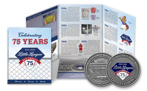 75th Anniversary Coin View Product Image