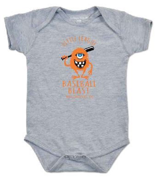 Baseball Beast Onesie View Product Image