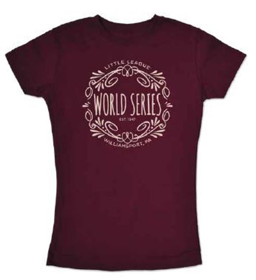 World Series Swirly Youth Tee View Product Image
