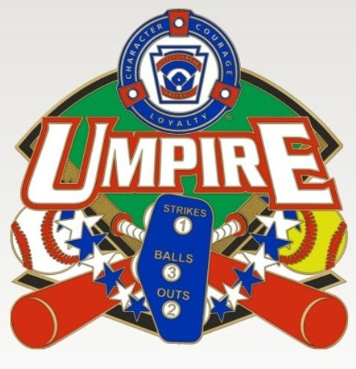 Little League Umpire Pin View Product Image