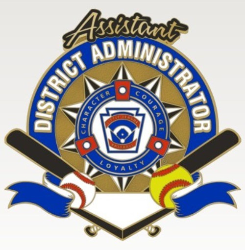 Assistant District Administrator Pin View Product Image