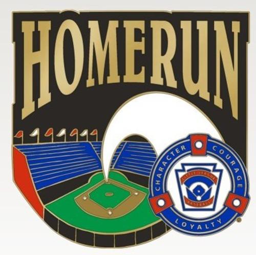 LL Homerun Pin View Product Image