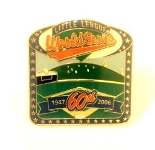 2006 World Series Stadium Square Pin View Product Image
