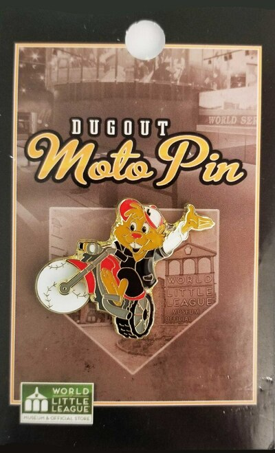 Dugout Moto Pin View Product Image