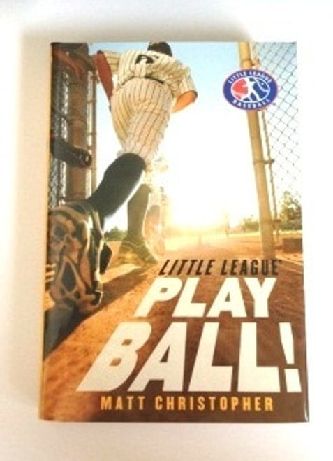 """Little League Play Ball!"" Hardcover Book by Matt Christopher View Product Image"