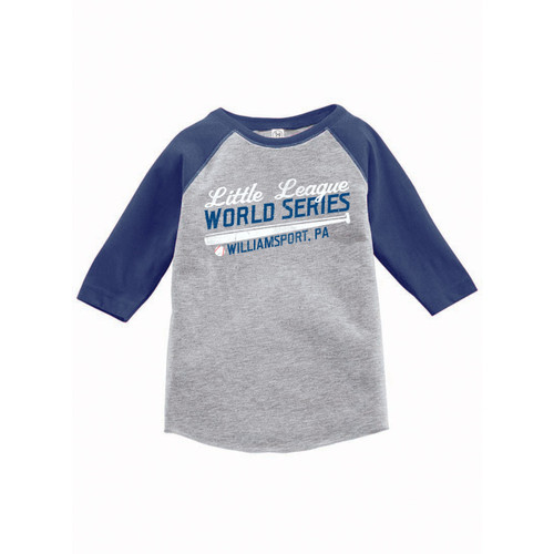 World Series Baseball Raglan Youth Tee View Product Image