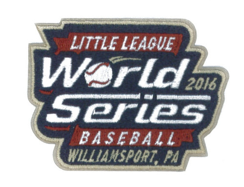 2016 World Series Patch View Product Image