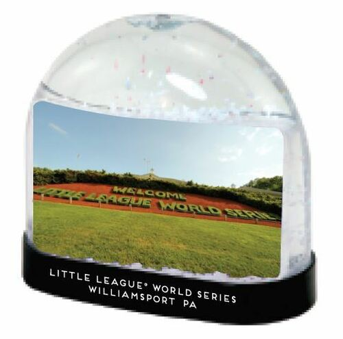 Welcome Hedges Snow Globe View Product Image