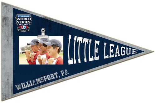 LLWS Pennant Clip Frame View Product Image