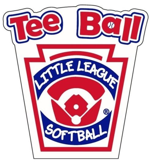 Tee Ball Softball Decal View Product Image