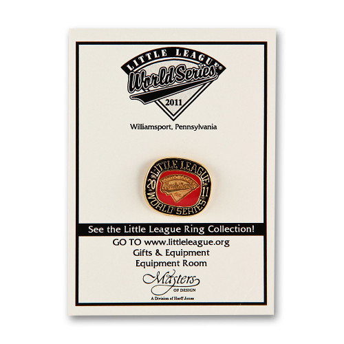 2011 WS Commemorative Pin View Product Image