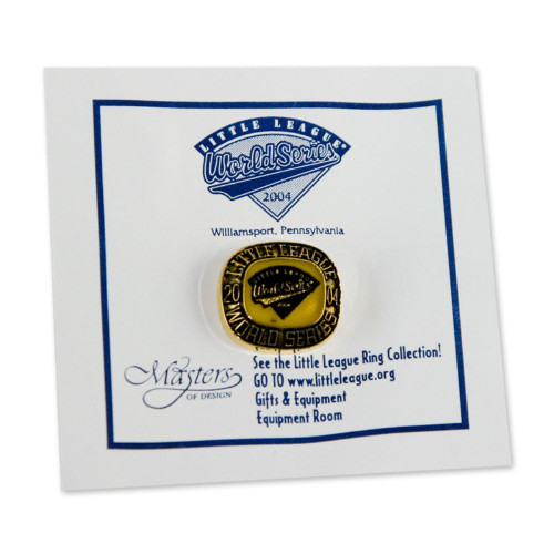 2004 WS Commemorative Pin View Product Image