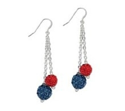 LL Ball Bling Earrings View Product Image