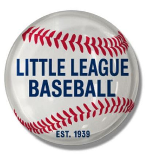 Baseball Ball Round Magnet View Product Image