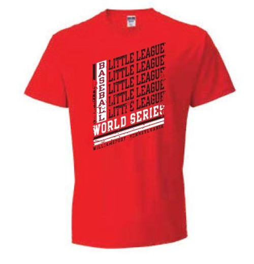 LL BSBL WS Red Tee View Product Image