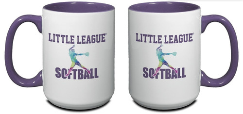 Little League Softball Mug View Product Image