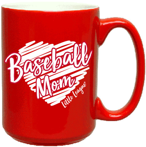 """Baseball Mom"" Mug View Product Image"
