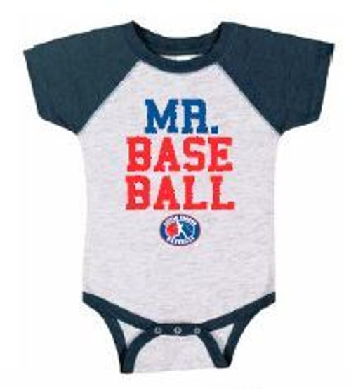 Mr. Baseball BB Onesie View Product Image