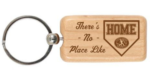 No Place Like Home Wood Keychain View Product Image