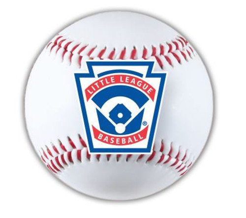 Baseball Circle Flat Magnet View Product Image