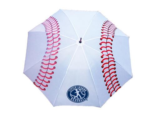 License Baseball Stitch Golf Umbrella View Product Image