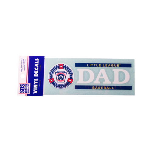"""Baseball """"Dad"""" Decal View Product Image"""