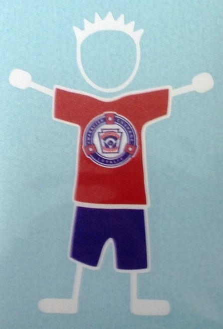 Stick Dad Decal View Product Image