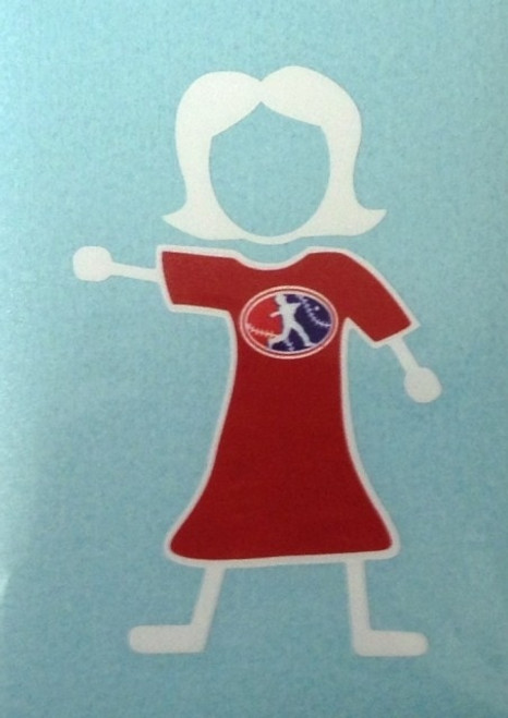 LL Stick Mom Decal View Product Image