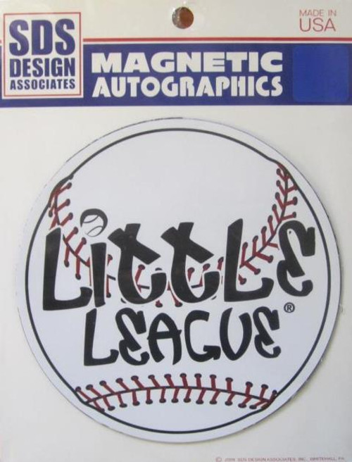 Large Baseball Font Magnet View Product Image