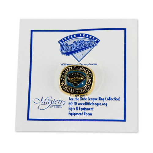 2001 WS Commemorative Pin View Product Image