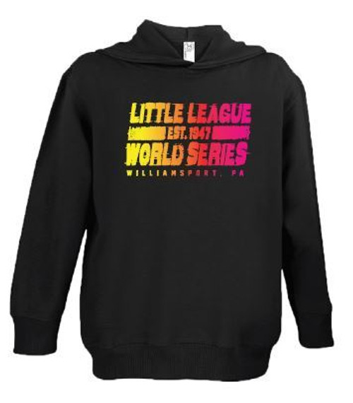LLWS 1939 Black Hoodie View Product Image