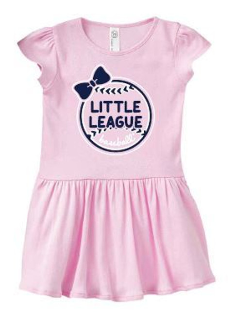 Baseball Bow Infant Dress View Product Image