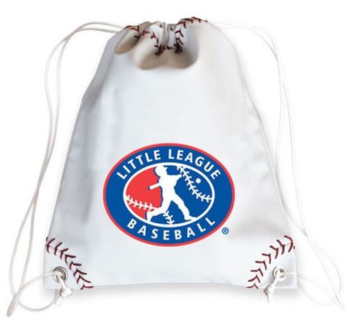 License Baseball Leather Drawstring Bag View Product Image