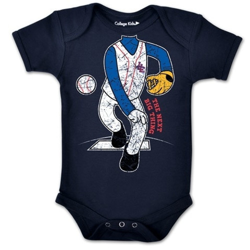 World Series Navy Pitcher Onesie View Product Image