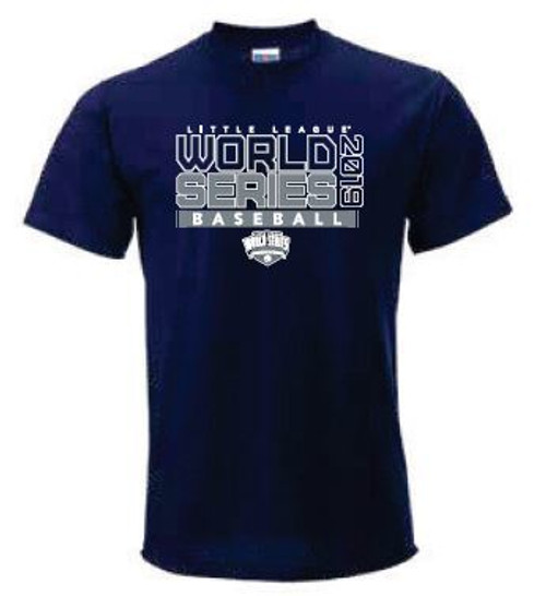 WS19 Basic Navy/Grey Tee View Product Image