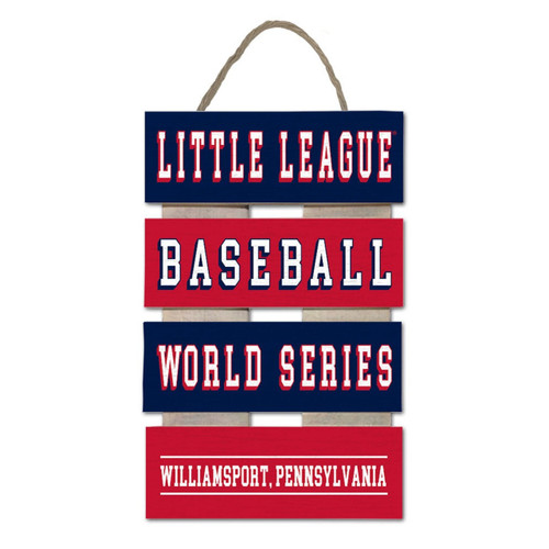 LLWS Ladder Plank Sign View Product Image