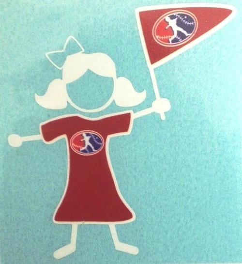 Girl Decal View Product Image